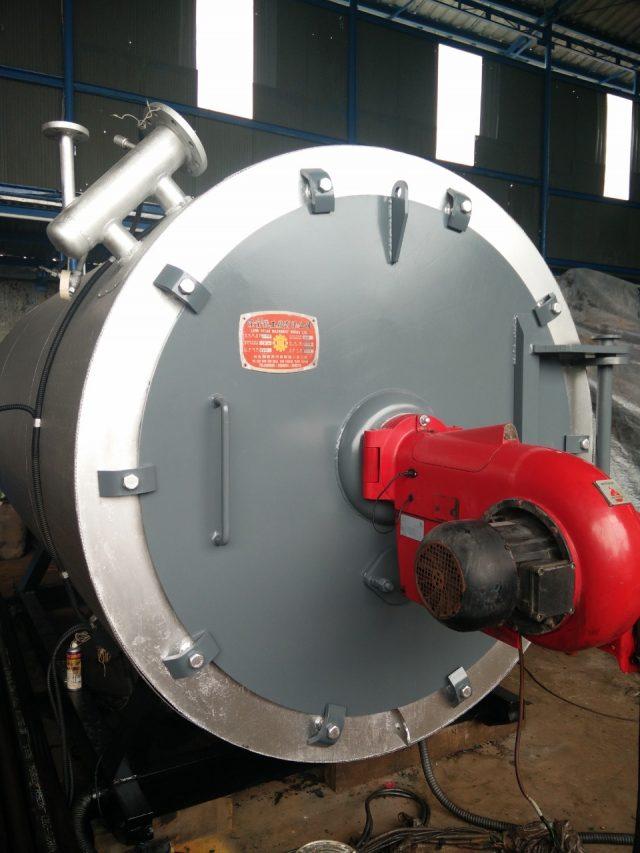 Boiler oil second
